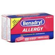 Benadryl Allergy, Ultratab Tablets