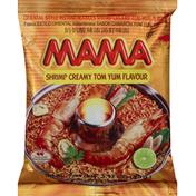 Mama Instant Noodles, Oriental Style, Shrimp Creamy Tom Yum Flavour