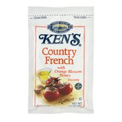 Ken's Steak House Ken's Dressing Country French With Orange Blossom Honey