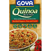 Goya Quinoa Blend with Red Bell Peppers, Peas and Garlic
