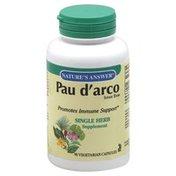 Nature's Answer Pau d'Arco, Vegetarian Capsules