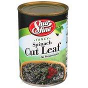 Shurfine Fancy Spinach Cut Leaf