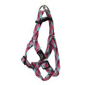 SPI Medium Pink Braided Pet Harness