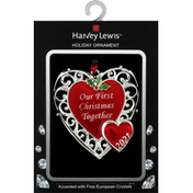 Harvey Lewis Holiday Ornament, First Christmas Together