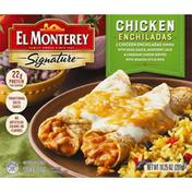 El Monterey Signature Frozen Entrée Chicken Enchilada