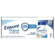 Ensure Original with Fiber Nutrition Shake Vanilla Ready to Drink Bottles