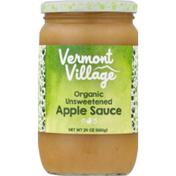 Vermont Village Applesauce, Unsweetened