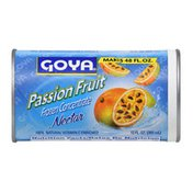 Goya Passion Fruit Nectar Concentrate, Frozen