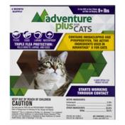 Adventure Plus for Cats Triple Flea Protection