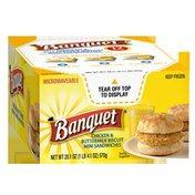 Banquet Chicken And Buttermilk Biscuit Snack Size Sandwiches