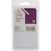 Smart Living Labels, All Purpose, Self-Adhesive