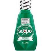 Scope Classic Original Mint Mouthwash 36 mL, 1.2 oz