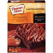 Duncan Hines Decadent Amaretto Brownie Mix