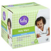 Baby Basics Baby Wipes, Unscented
