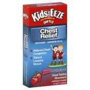 Kids Eeze Chest Relief, Strawberry, Soft Chews