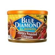 Blue Diamond Almonds, Honey Roasted, Chipotle