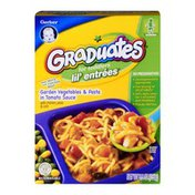 Gerber Graduates for Toddlers Lil' Entrees Garden Vegetables & Pasta In Tomato Sauce