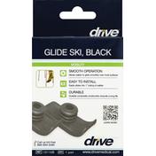 Drive Glide Ski, Black
