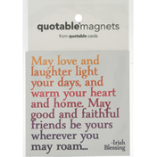 Quotable Magnets, May Love & Laugh