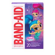 Band-Aid Brand Adhesive Bandages Featuring Nickelodeon Shimmer And Shine, Assorted Sizes