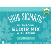 Four Sigmatic Elixir Mix, Mushroom, Chill, 20 Pack