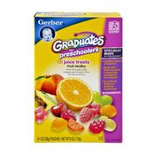 Gerber Graduates for Preschoolers Fruit Medley Juice Treats- 6CT