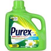 Purex Liquid Laundry Detergent, Linen & Lilies, 150 Loads