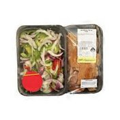 Albertsons USDA Choice Beef Strips & Cut Peppers & Onions for Fajitas