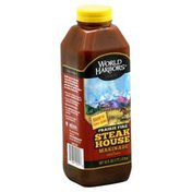 World Harbors Marinade & Sauce, Prairie Fire Steak House
