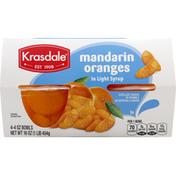 Krasdale Mandarin Oranges, in Light Syrup