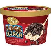 Kemps Vanilla Fudge Crunch Ice Cream