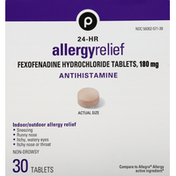 Publix Allergy Relief, 24-Hr, 180 mg, Tablets