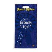 Beistle Award Ribbon Birthday Boy
