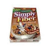 Benefit Nutrition Simply Fiber Cinnamon Cereal