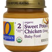 O Organics Baby Food, Organic, Sweet Potato Chicken Dinner, 2 (6 Months & Up)