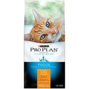 Purina Pro Plan Focus Chicken & Rice Formula Adult 11+ Cat Food