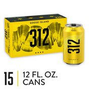 Goose Island Beer Co. 312 Urban Wheat Ale Beer Cans