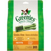GREENIES Petite Grain Free Dental Dog Treats