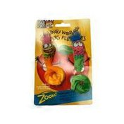 Doskocil Fat Cat Springy Worms Classic Cat Toys