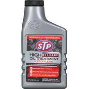 STP Oil Treatment + Stop Leak, High Mileage
