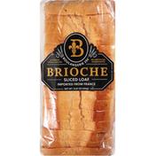 Boulangerie 255 Sliced Loaf, Brioche