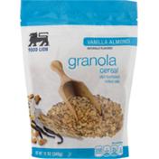 Food Lion Cereal, Granola, Vanilla Almond, Pouch