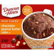 Duncan Hines Perfect Size Chocolate Peanut Butter Cake Mix