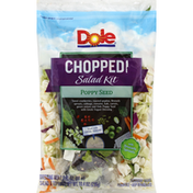 Dole Salad Kit, Chopped, Poppy Seed, with Brussels Sprouts