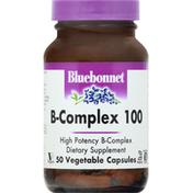 Bluebonnet B-Complex 100, Vegetable Capsules