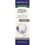 Nature's Truth Essential Oil, 100% Pure, Mental Clarity