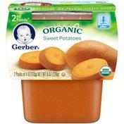 Gerber Organic 2 Nd Foods 2nd Foods Organic Sweet Potatoes Organic Purees Vegetable