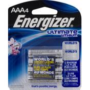 Energizer Ultimate Lithium AAA Batteries