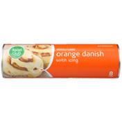 Food Club Orange Danish With Icing
