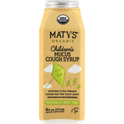 Maty's Mucus Cough Syrup, Organic, Children's